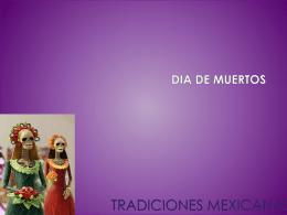 TRADICIONES MEXICANAS - sexto-b2