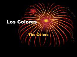 Los Colores y Formas