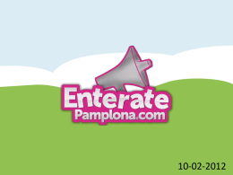 Entérate Pamplona