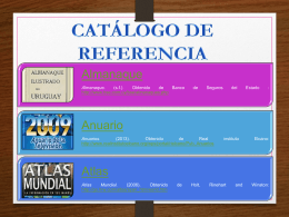 catalogo de referencia