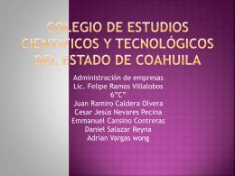 Colegio de Estudios CientÃ_ficos y TecnolÃ_gicos del