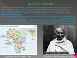 La descolonización - 4AB-IESLlanes