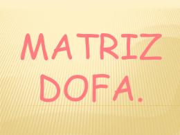 MATRIZ DOFA - Salud-Mental-B5-2014-2