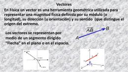 Física 3 vectores