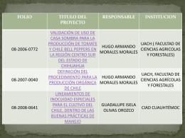Presentación2 - Fundación Produce Chihuahua