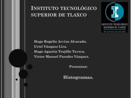 Histogramas. - ELECTROMECANICA-ITST