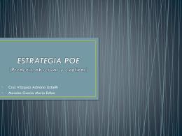 ESTRATEGIA POE