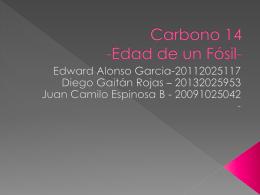 3 carbono 14