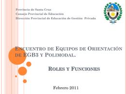 Presentación Roles y Funciones.