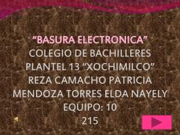BASURA ELECTRONICA44444444