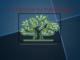 La Familia De Rafael Reis