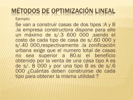 met-programación lineal