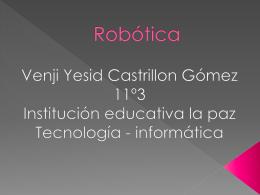 Robótica - informatica2011