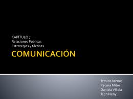 COMUNICACIÓN - Octavio Islas