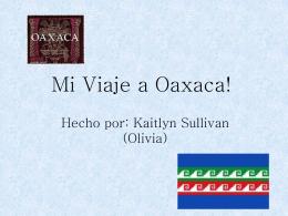 Slide 1 - viaje a oaxaca