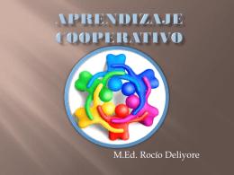 Aprendizaje cooperativo - OE0360-NEE-ROCIODELIYORE