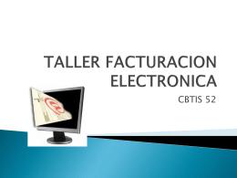 taller facturacion electronica cbtis 52