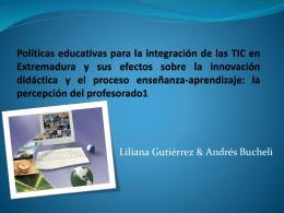Políticas educativas para la integración de las TIC
