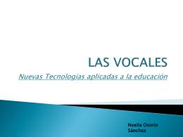 Pintar con las vocales - Noelia-ucjc
