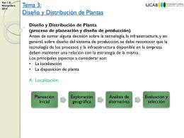 Diseño y Distribución de Planta - Gerencia