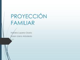 PROYECCIÓN FAMILIAR (356110)