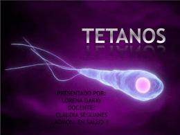 TETANOS (382883) - admon.salud.campoalto