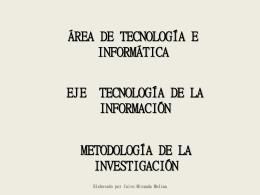 metodologia de la investigacion febrero 10