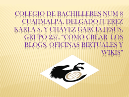Colegio de bachilleres núm., 8 cuajimalpa