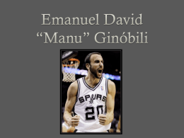 Manu Ginobili Powerepoint