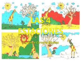 LAS 4 ESTACIONES - Las Cuatro Estaciones para Primaria