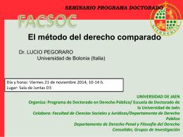 Seminario Lucio - Diario Digital de la UJA
