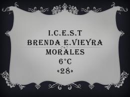 I.C.E.S.T BRENDA E.VIEYRA MORALES 6°C «28»