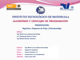 Portada Presentación AL DD PS - Algoritmos