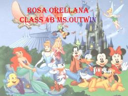 Rosa Orellana class 4B Ms.OUTWIN