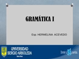 GRAMATICA I - laalegriadeleer