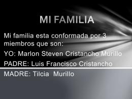 MI FAMILIA marlon