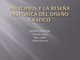 principios y la reseña histórica del diseño gráfico
