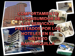 trabajo dirigido hoteles en barranquilla
