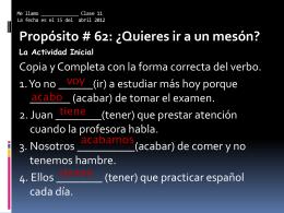 Lesson 62