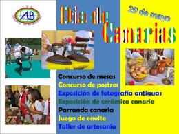 Día de Canarias - IES Agustín de Betancourt