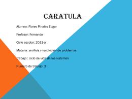 Presentación de PowerPoint - analisisresolucionproblemas