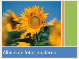 Práctica 40 Álbum de fotos moderno