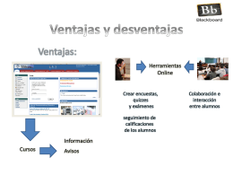 Ventajas y desventajas - InformaticaEducativaTelesup