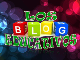 definicion de blog educativo