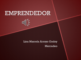 EMPRENDEDOR.LINA ARROYO GODOY.