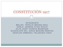 CONSTITUCIÒN 1917 E2 3C