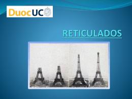 RETICULADOS. - Ayudantia Estructuras Duoc Maipu