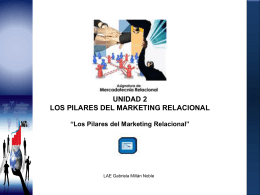 Los Pilares del Marketing Relacional