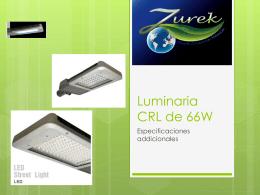 Luminaria CRL de 66W – Zurek