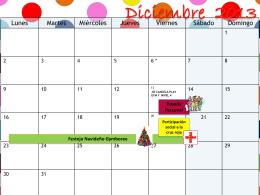 Diciembre 2013 Posada Personal Festejo
